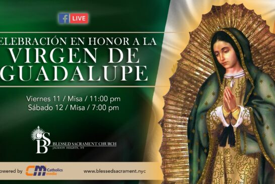 Mass Online | December 11th 2020 | Misa Mañanitas Virgen de Guadalupe |  Rev.  Gabriel Toro R.