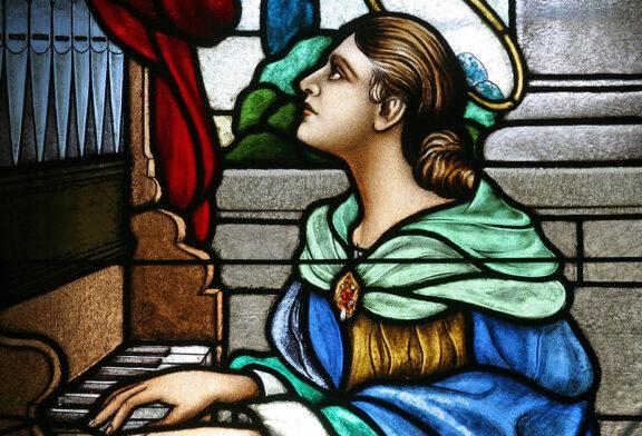 Saint Cecilia   Saint of the Day for November 22th