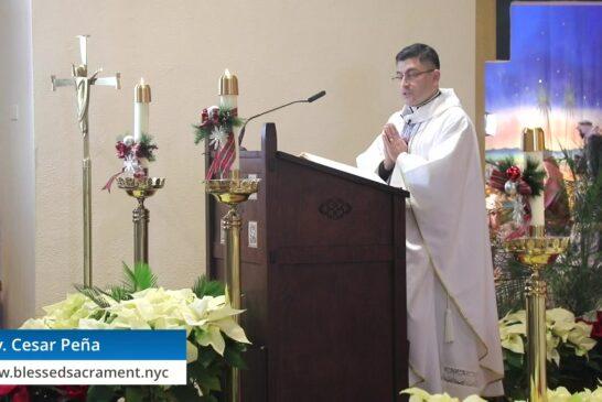 Mass Online   December 27th 2020     Rev. Cesar Peña