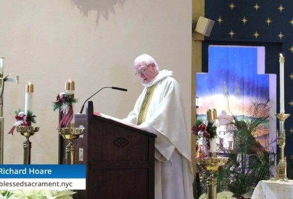 Mass Online | December 29th 2020  |  Rev. Richard Hoare