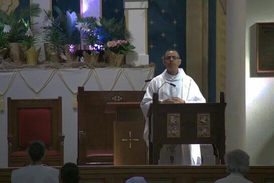 Mass Online   April 19  2021     Rev. Juan Pichardo