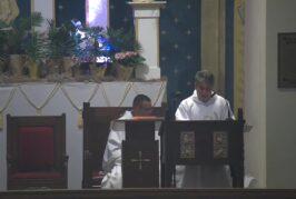 Mass Online   April 18  2021     Rev. Juan Pichardo (1:30pm)