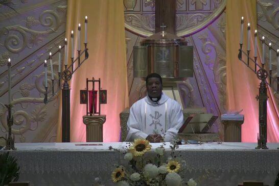 Mass Online   May 4th  2021     Rev. Saint Charles Borno