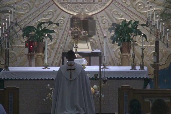 Holy Hour | Mass Online | July 2nd 2021 | Rev. Juan Pichardo