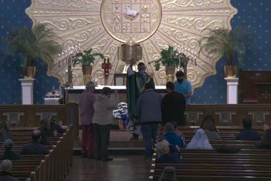 Mass Online   October 22th  2021    Rev. Juan Pichardo (9:00am)